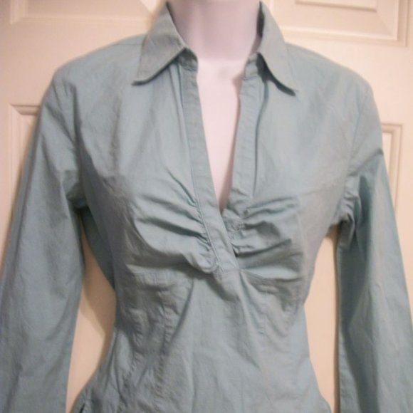 Mexx Blue Stretch Top Small